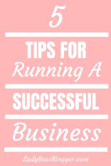 Running A Successful Business