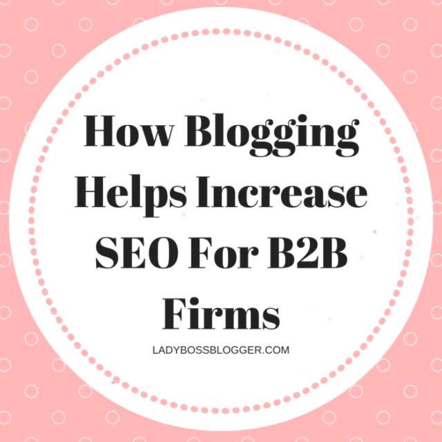 Blogging Helps Increase SEO