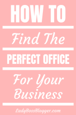 How To Find The Perfect Office For Your Business