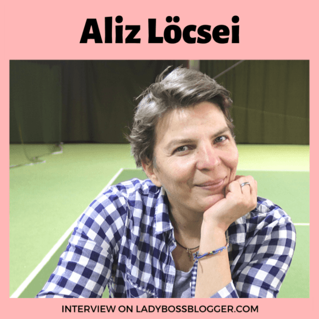 Aliz Löcsei Helps People Master Tennis