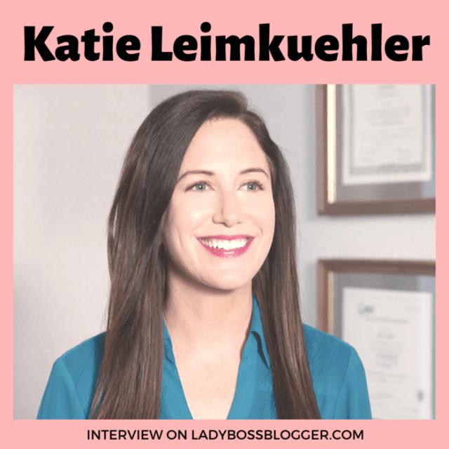 Katie Leimkuehler LadyBossBlogger Interview