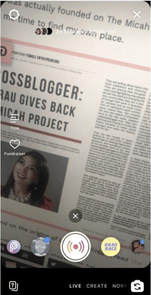 IG Live ladybossblogger.com
