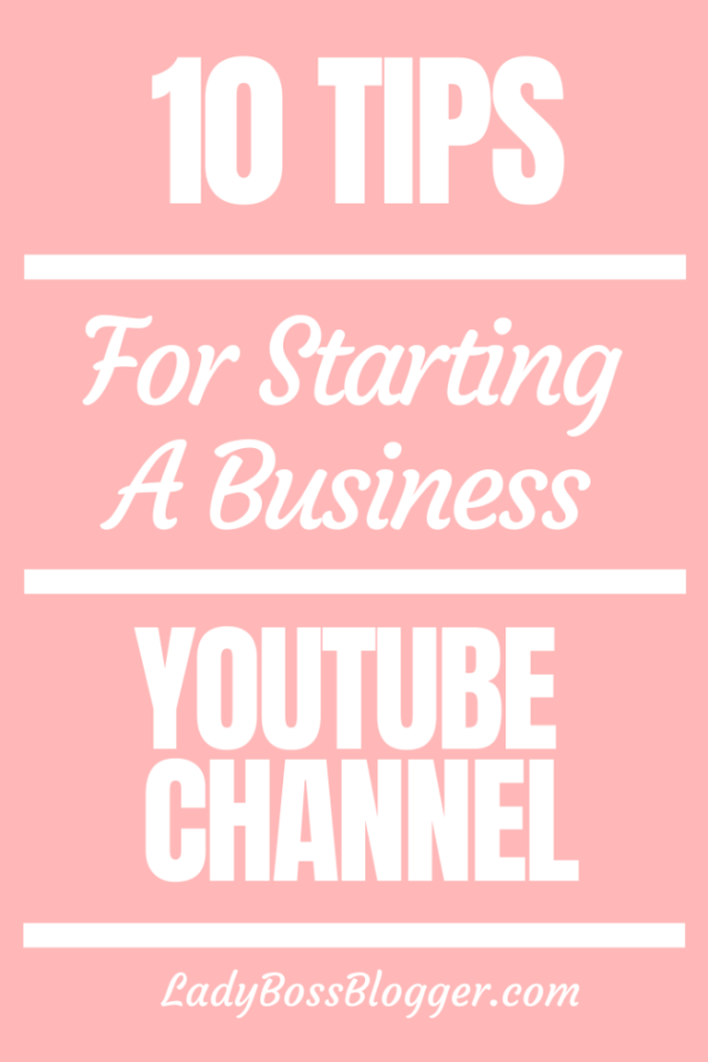 business channel youtube ladybossblogger.com