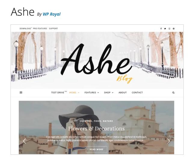 Ashe ladybossblogger.com