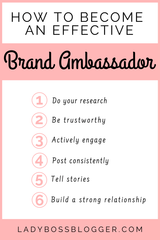 become brand ambassador ladybossblogger.com
