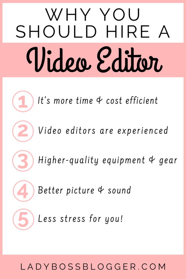 hire video editor ladybossblogger.com