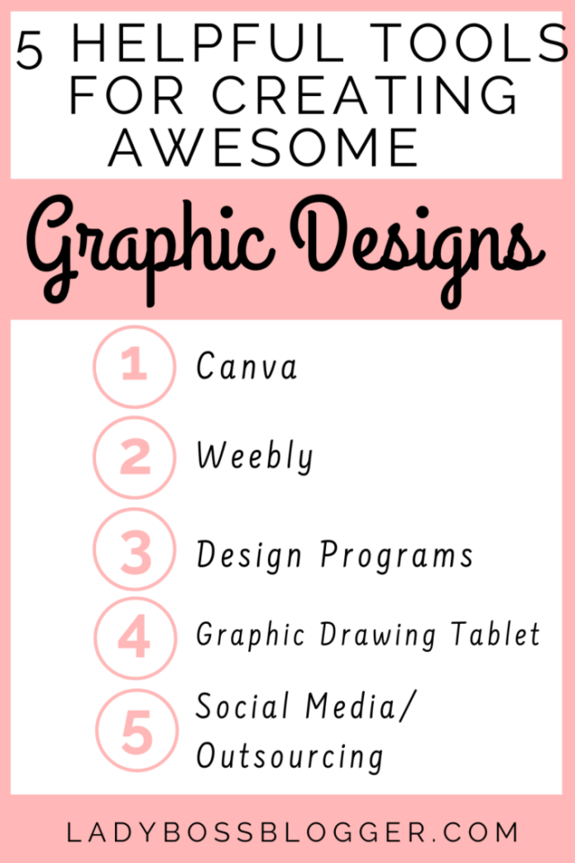 5 Helpful Tools For Creating Awesome Graphic Designs LadyBossBlogger