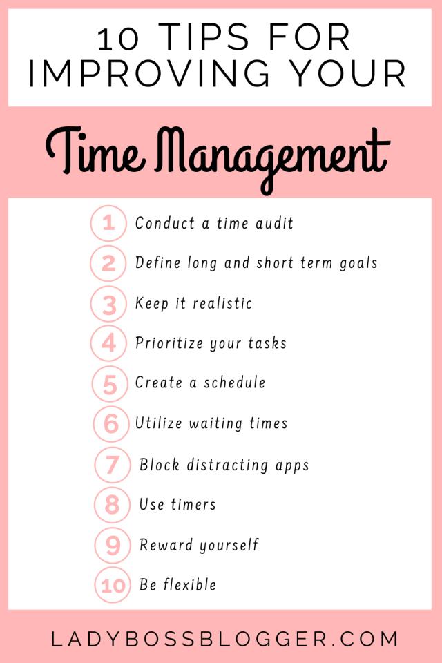 Time Management LadyBossBlogger.com