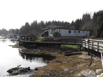 The Board Walk of Bamfield