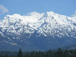 Perfect picture of Mount ArrowSmith