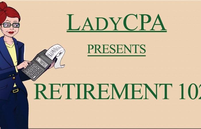 Retirement 102 – Video