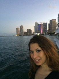 Aboard the Biscayne Lady