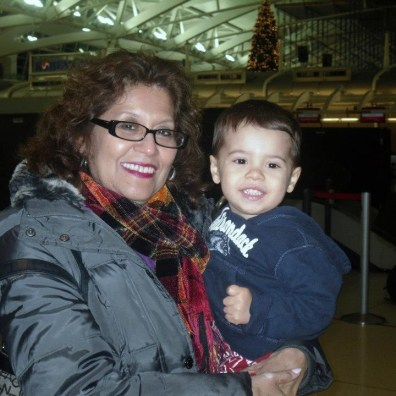La abuela que adora a su nieto