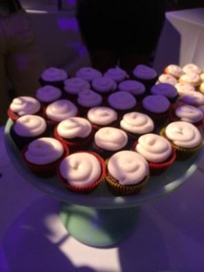 Red velvet cupcakes, YUMMY.