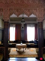 traditional Moroccan home interior