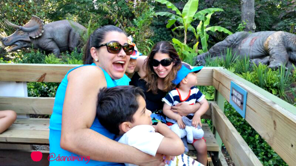 bronx zoo dinosaurs pic monkey