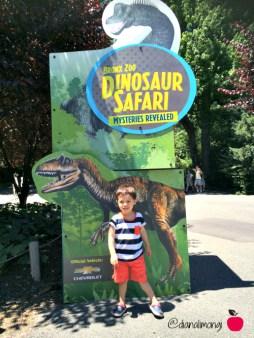 dinosaur safari bronx zoo
