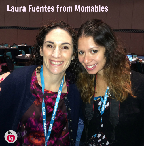 Laura Fuentes from @Momables