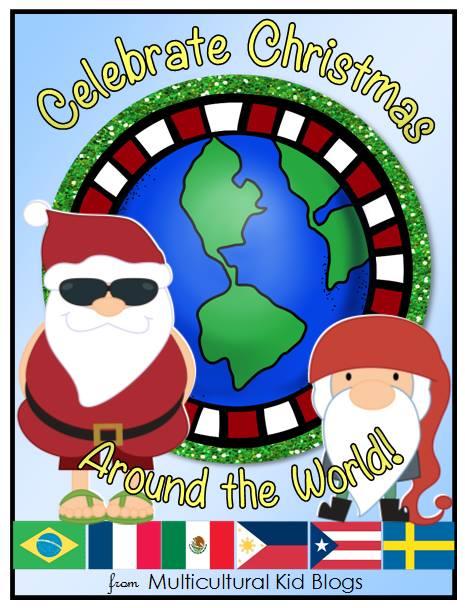 christmas around the world printables