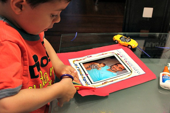 cutting fathers day cards