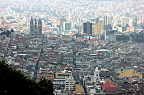 View from el Panecillo