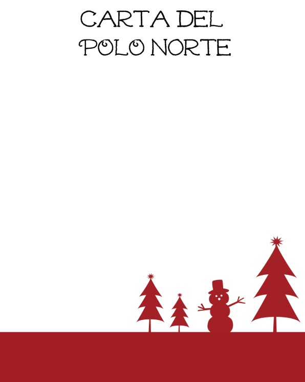 carta del polo norte