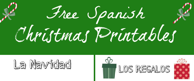 Free Christmas Printables in Spanish!