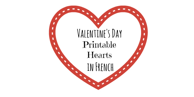 valentine's day printable hearts in french - ladydeelg, Ideas