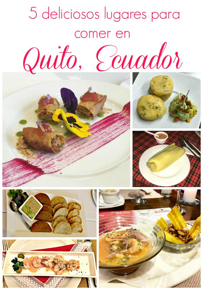 lugares para comer delicioso en Quito