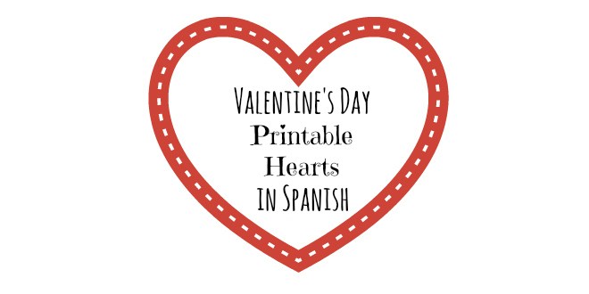 All about Hearts Valentines Day Cards in Spanish  LadydeeLG