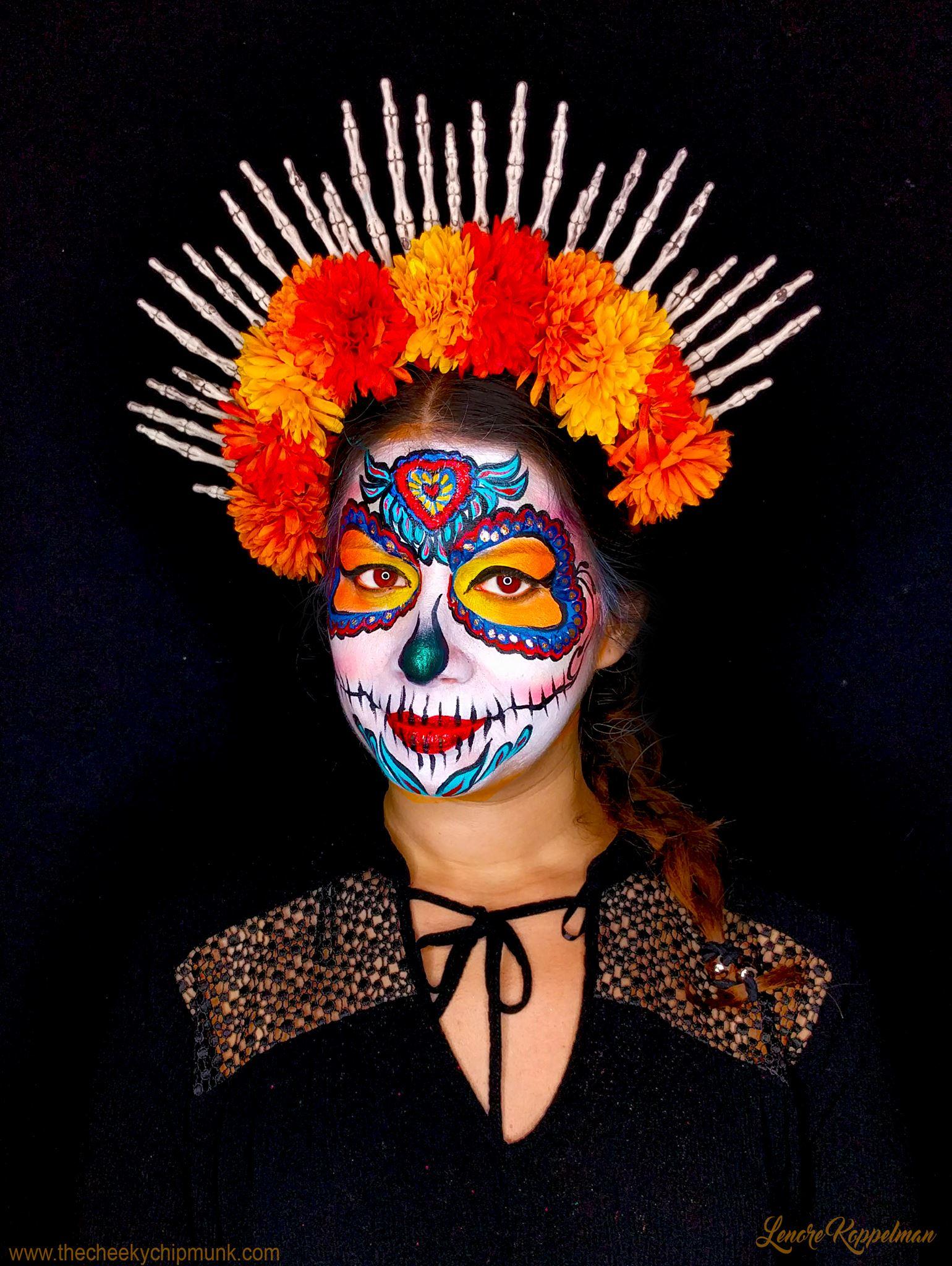 Understanding El Dia De Los Muertos And Becoming Catrina Ladydeelg
