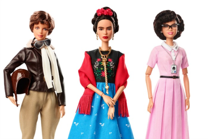 Inspiring Women Barbie dolls