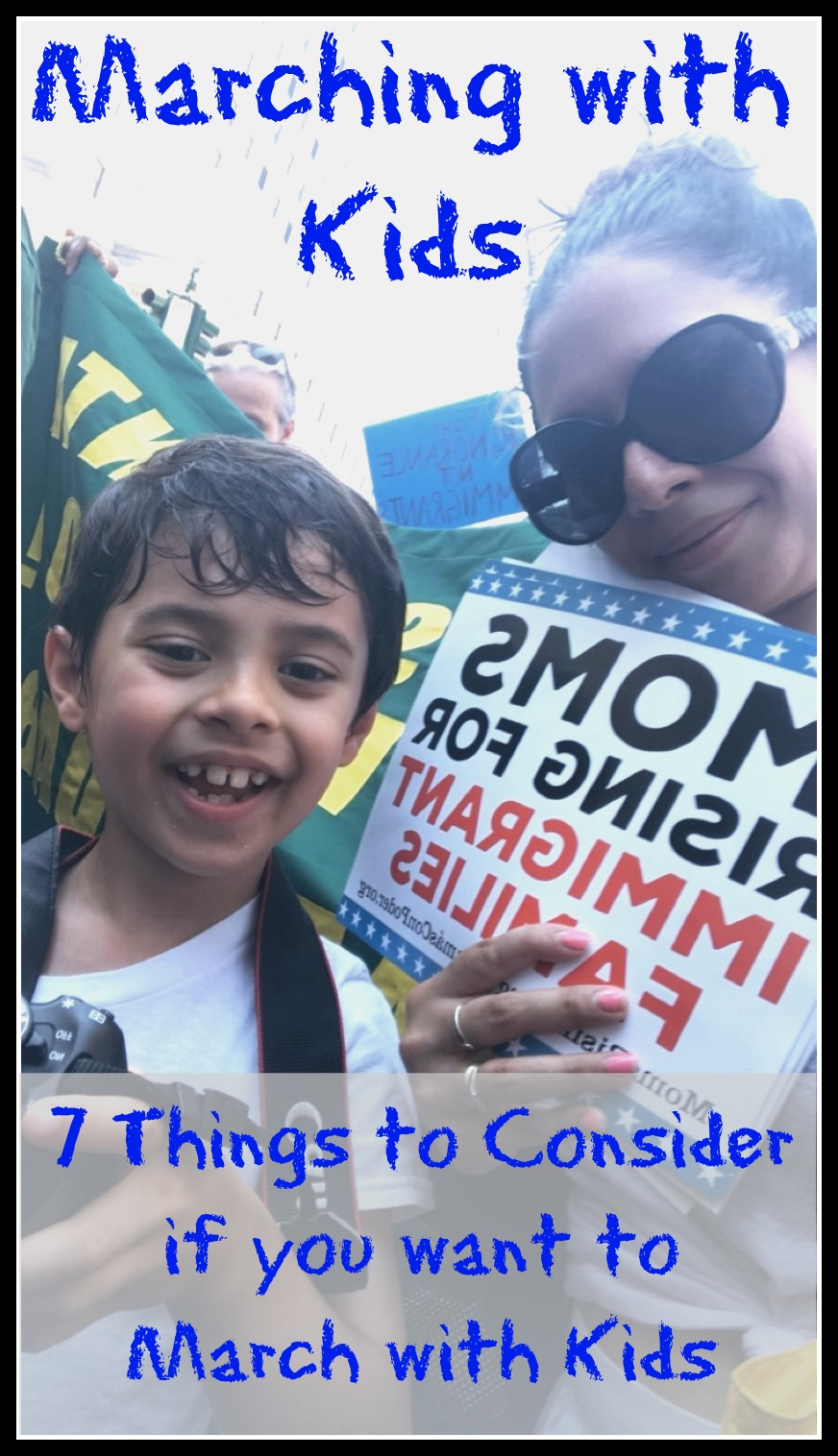 Marching With Kids-7 things to consider