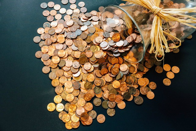 Healthy fundraiser idea- penny war
