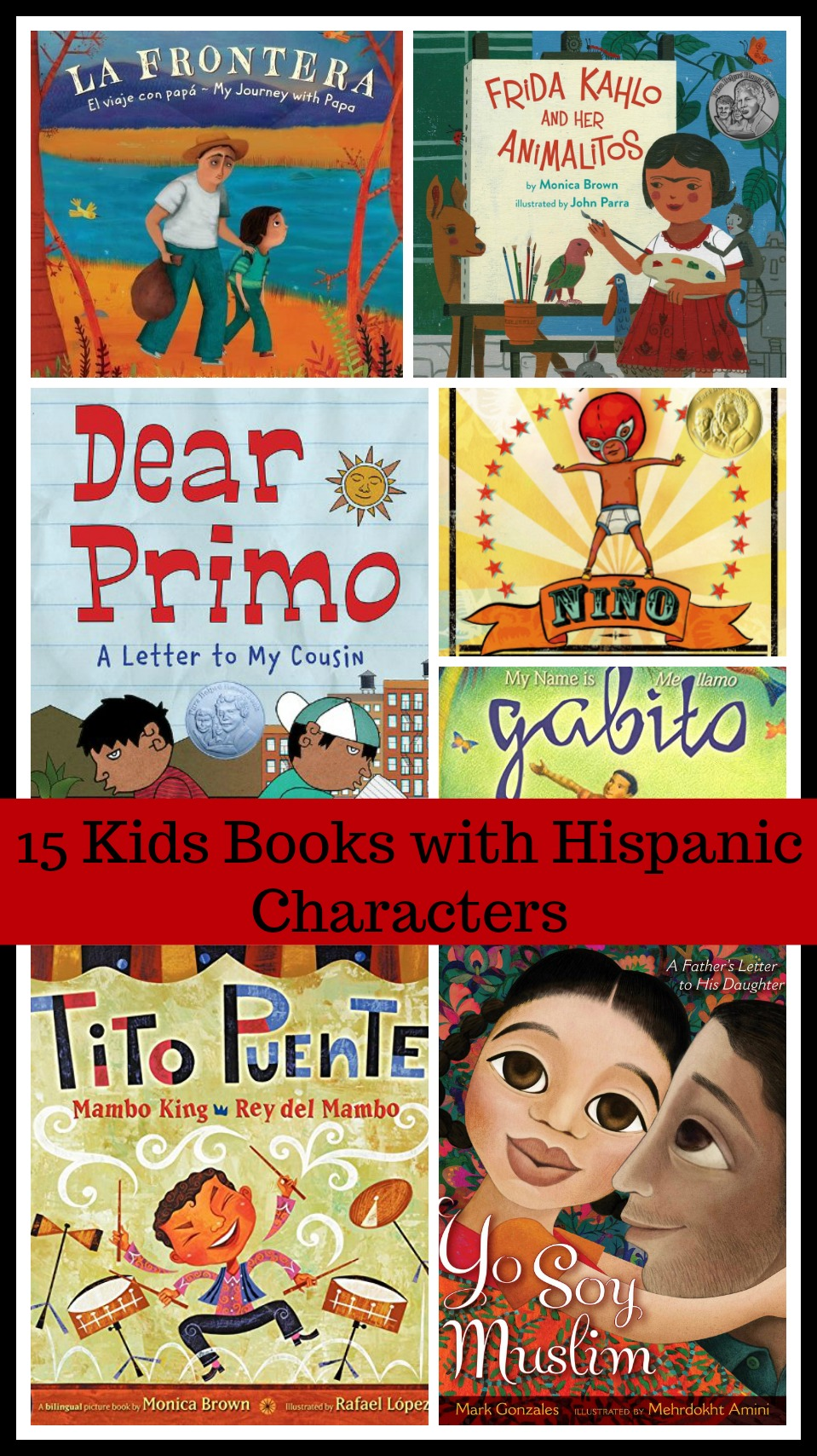Kids Books with Hispanic Characters