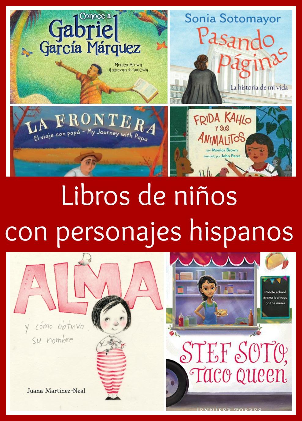 Libros de niños con personajes hispanos que te encantarán
