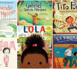 Libros de niños en español con personajes hispanos