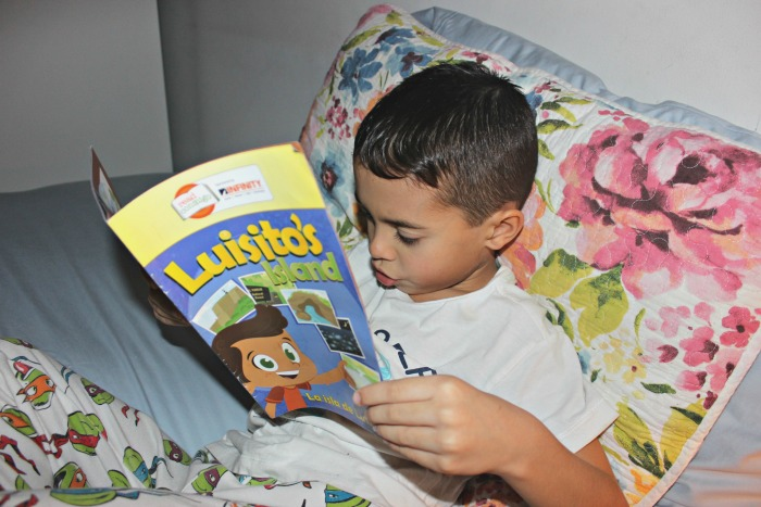Book about Puerto Rico- Luisito's Island
