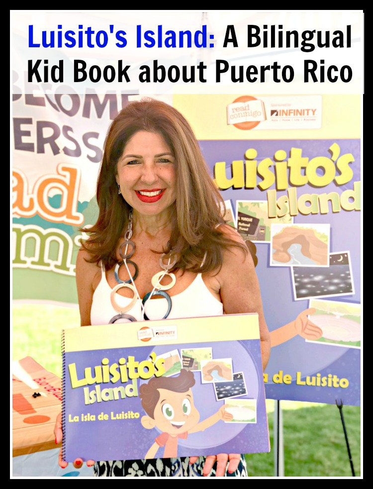 Luisito's Island: A Bilingual Kid Book about Puerto Rico
