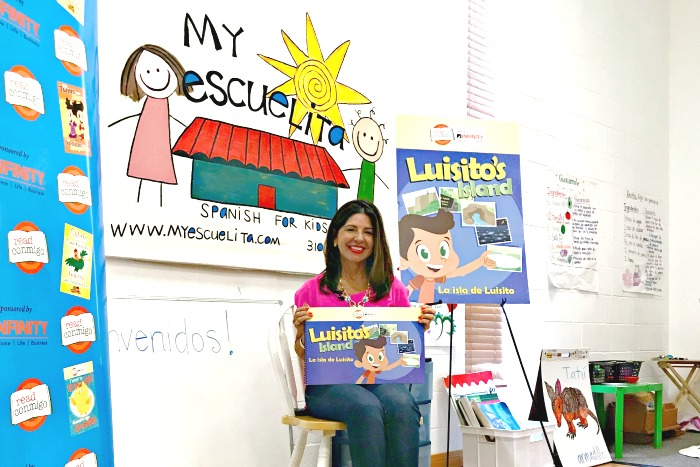 bilingual kid book about Puerto Rico