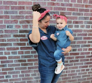 baby rosie the riveter costume