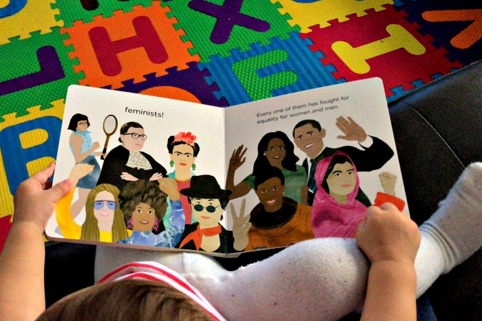 baby feminists book