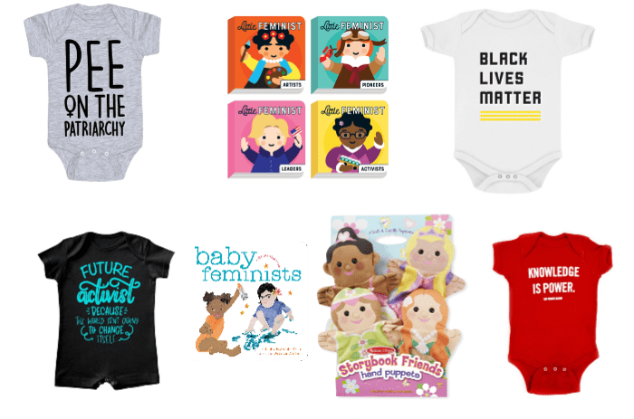 gifts for baby activists