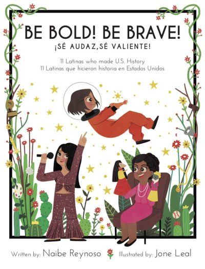 Be Bold! be Brave! Bilingual Book for Kids