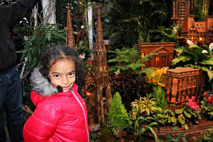 Celebrate Christmas in New York with Kids like a local at the New York Botanical Garden's Holiday Train Show