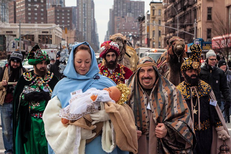 Three Kings parade In NYC
