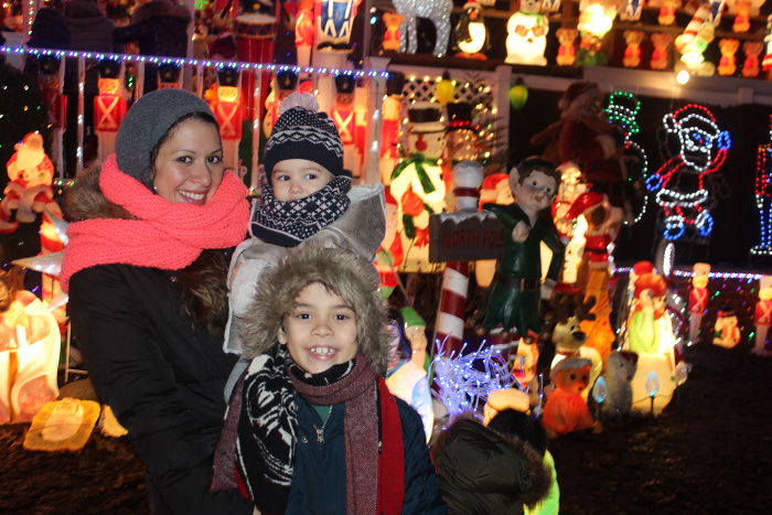 Santas corner is a home in Whitestone (Queens) NY that is a must-see during the holiday season.