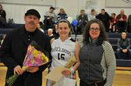 Molly McDonough with her mom and dad.