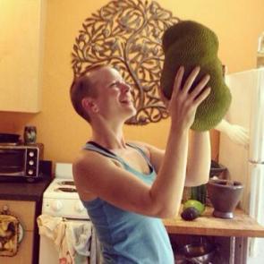 Birthday jackfruit