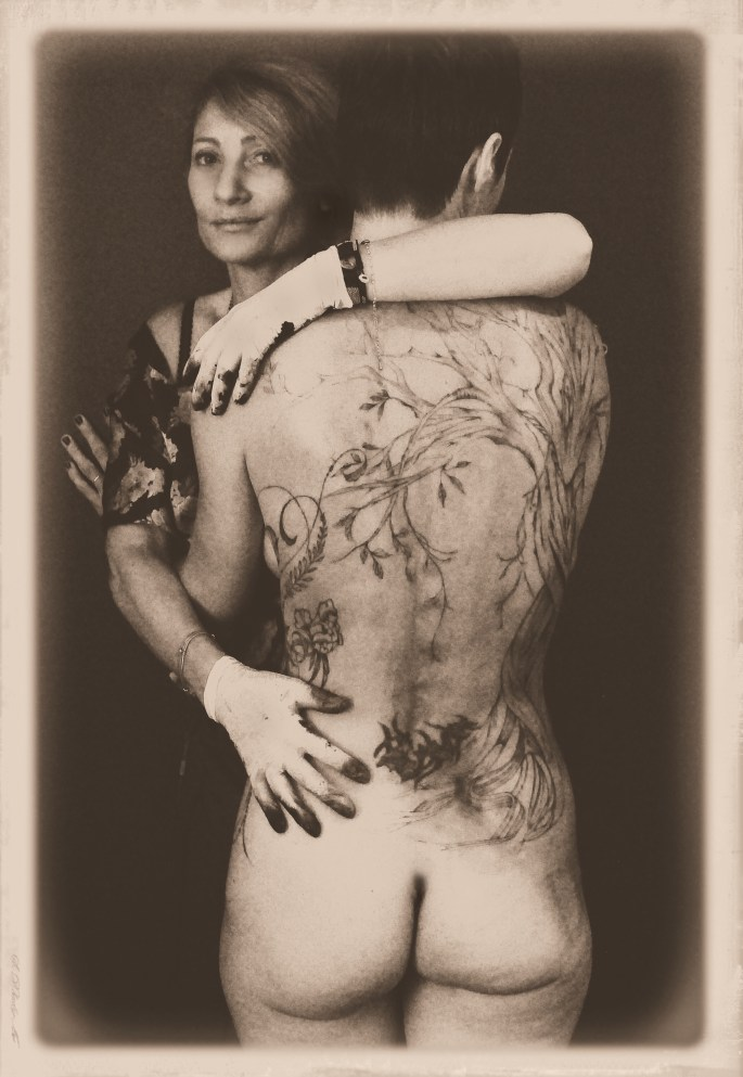Lady Erell tatouage taratatoo arbre